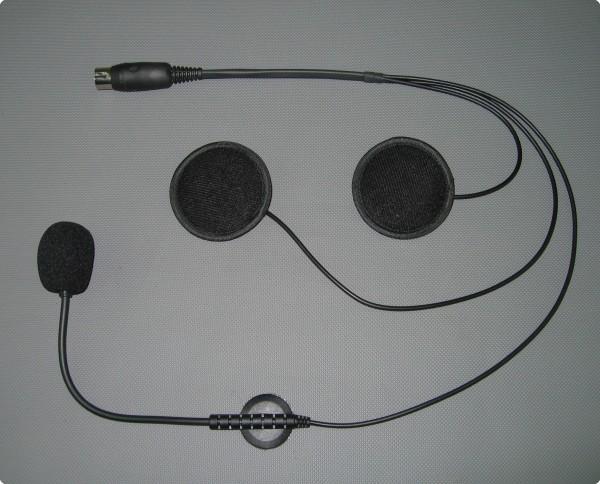 HES-01-03 Baehr® kompatibles Headset für Jethelm oder Systemhelm