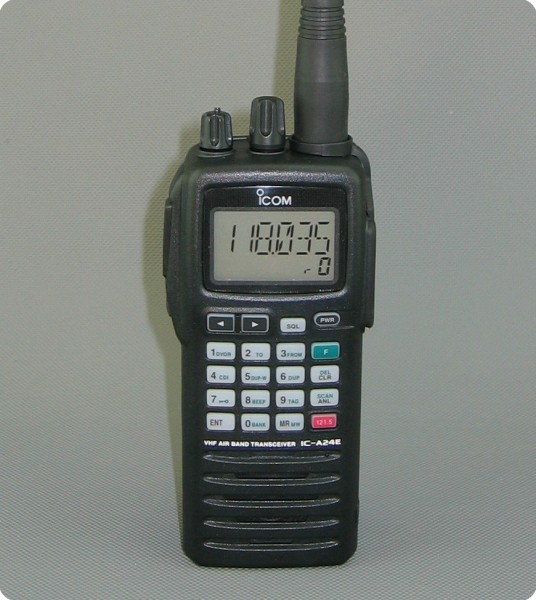 Icom IC-A6E Flugfunk Air Radio