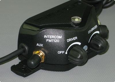 Peltor® FMT120 Intercom Seitliche Abbildung