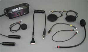 Sparco Gegensprechanlage mit Racepro Headset