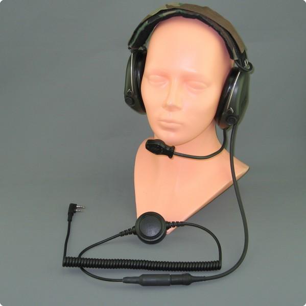 Inline PTT-Taste für taktische Headsets