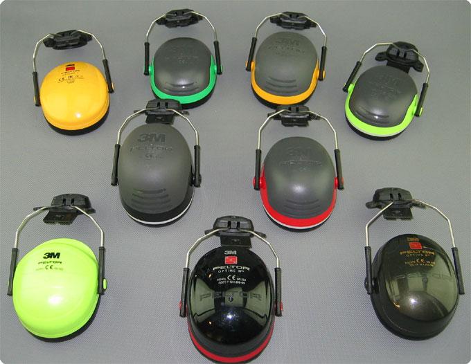 Übersicht Lärmschutzkapseln für KASK Helme
