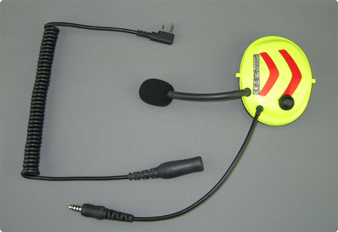 Panner Protos kompatibles PTT-Funk Headset Umrüstung