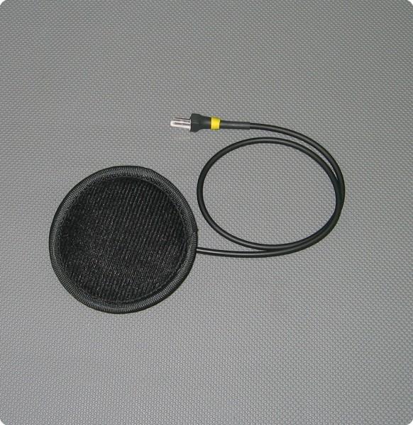 Flach Lautsprecher mit kurzem Kabel - Gyrocopter Pro Helmeinbausatz