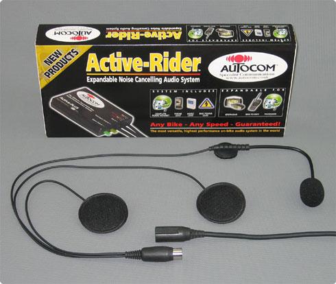 Autocom Gegensprechanlage mit Headset
