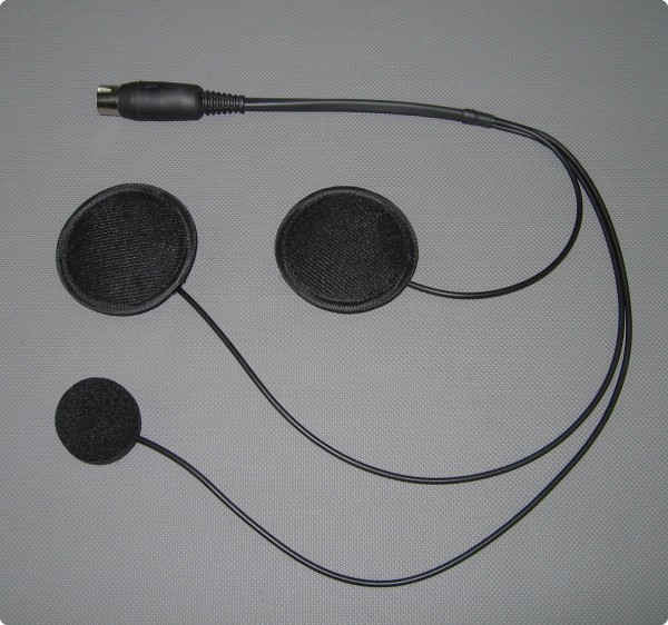 Autocom Typ-32 Headset Integralhelm