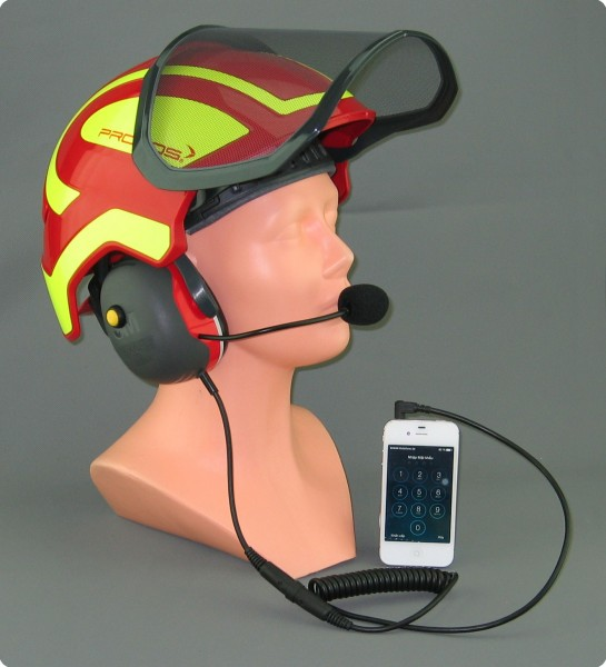 Pfanner® Protos® Integral kompatibles Iphone Headset