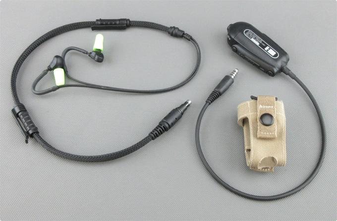 Racial® Frontier 1020 Umbauservice Peltor® Nato Stecker