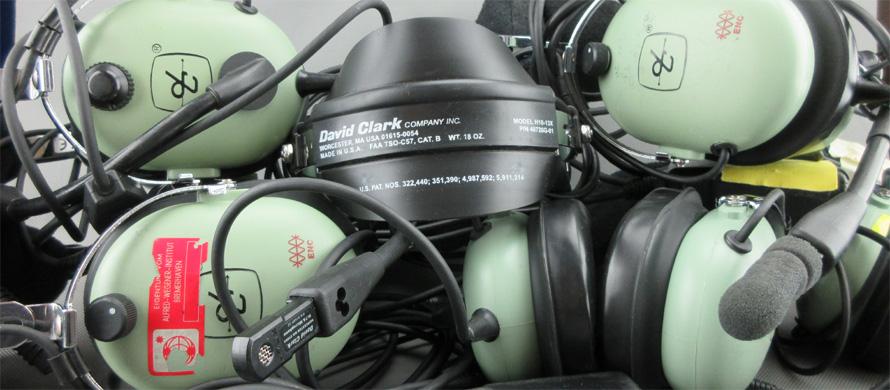 David Clark Aviation headsets, Reparatur, Wartung, Wäsche