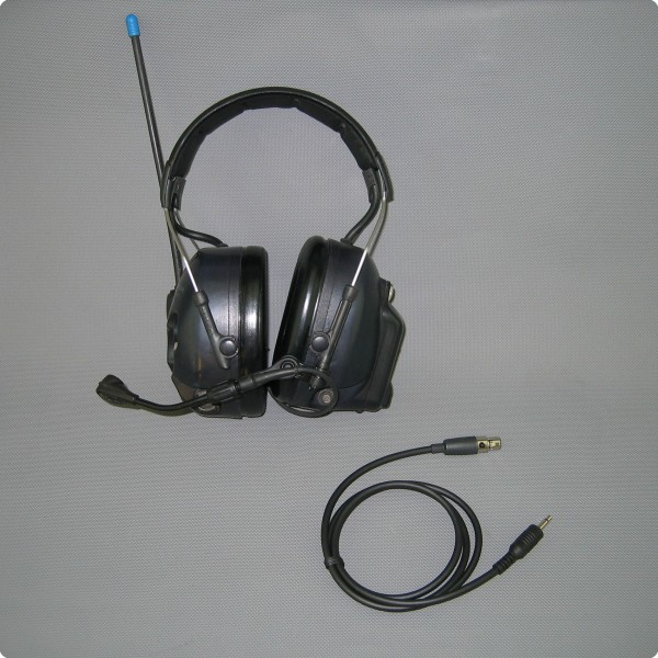 FL6BT / Audio Mono - Peltor® LiteCom kompatibles Kabel