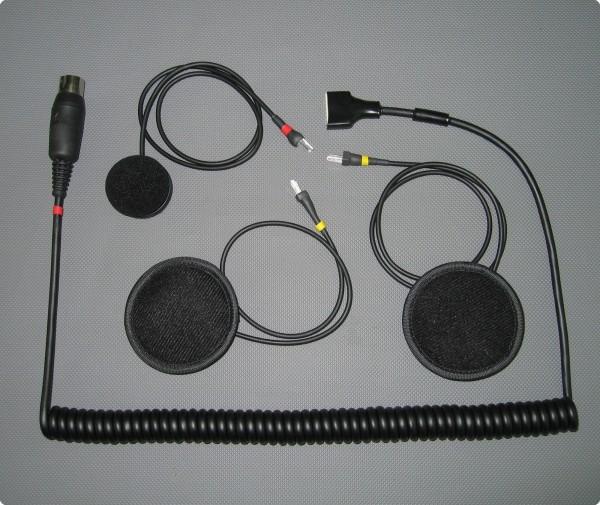 BMW Voice kompatibles PRO SH-004-6B Headset / Integralhelm