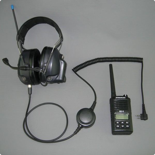 PTT-/ Funkschnittstelle für 3M® /Peltor® Litecom Gehörschutzsysteme
