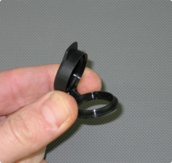 Klappdeckel / Staubschutzdeckel für Peltor® / Nexus® Einbaubuchse