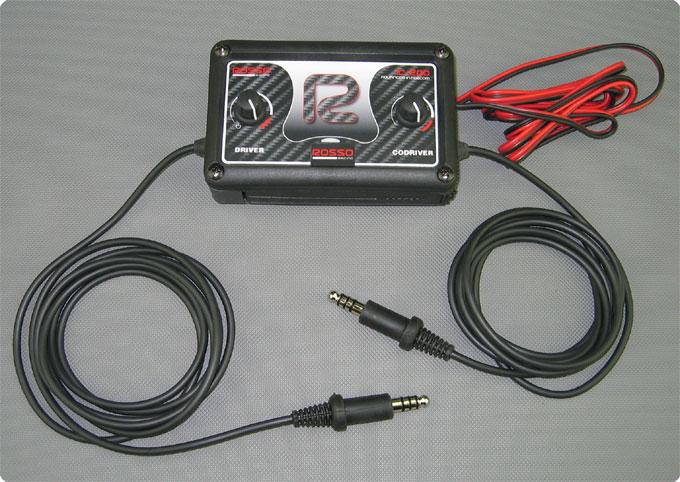 Rosso Intercom IC-200 Intercom mit Peltor® kompatiblen Anschluss