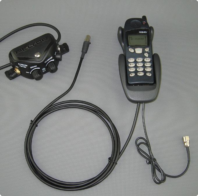 Nokia Mobiltelefon adaptiert an Peltor FMT-120