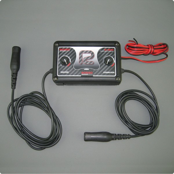 Rosso Racing IC-200 DSP Intercom Gegensprechanlage Peltor® Anschluß