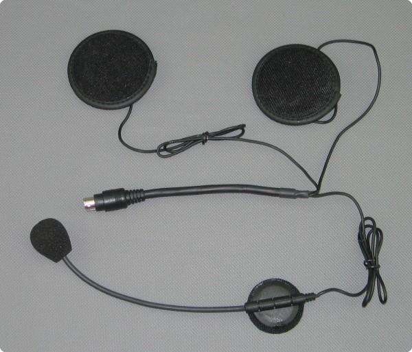 IMC Headset Jet-/ Systemhelm Mini Din Stecker MIT-15 / MIT-30 / MIT-100 / MIP-200