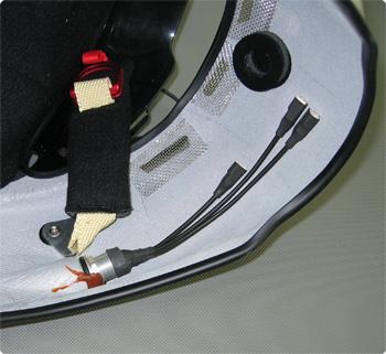 Einbaubuchse Helm Innenseite Stilo ST4 W Helm