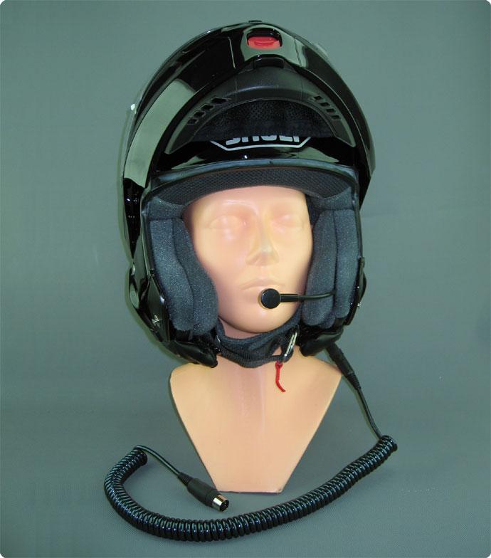 Helmeinbau Intercom