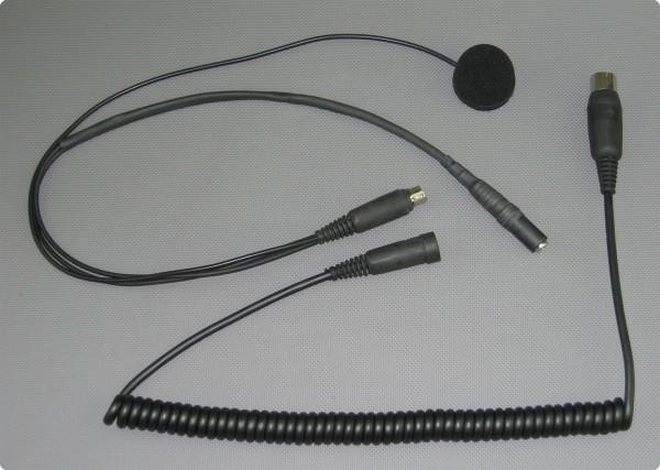 StarCom1 / Baehr® PP-004 Integralhelm Kabelsatz