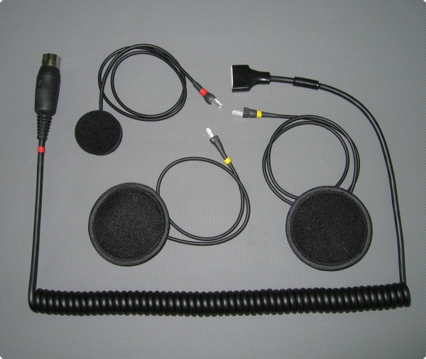 Harley Davidson® 5 Pin kompatibles SH-004-H Headset / Integralhelm