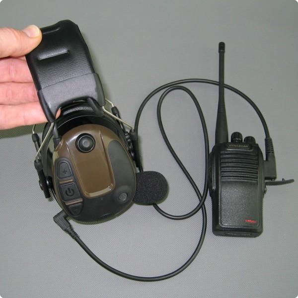 StarCom1 Hunter - aktives PTT-/ Funk Lärmschutzheadset