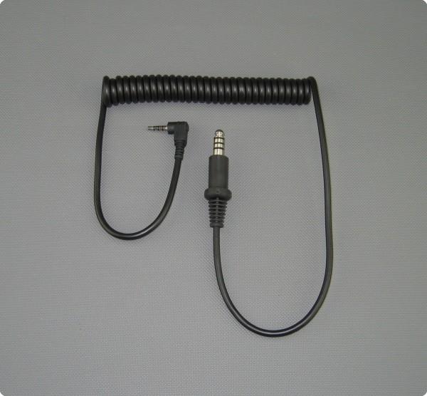 CAB-89 Iphone / HTC Direktanschluss für Stilo 4 Pin Buchse