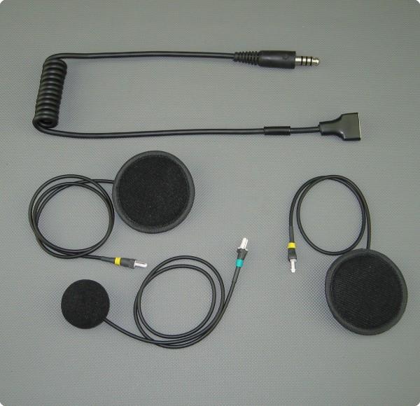 Sparco ® IS-110 kompatibles SH-004-SE Headset / Integralhelm