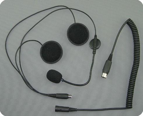 Pinkompatible Helmeinbau Headsets für BMW Voice Interkomanlagen - Jethelm / Systemhelm