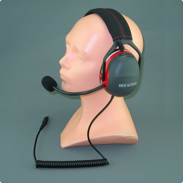 Racing-/ Rally Trainings Headset Peltor® kompatibel